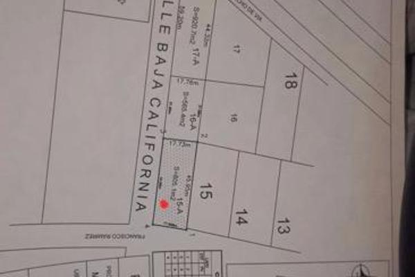 Foto de terreno habitacional en venta en  , colegios, benito juárez, quintana roo, 7999530 No. 04