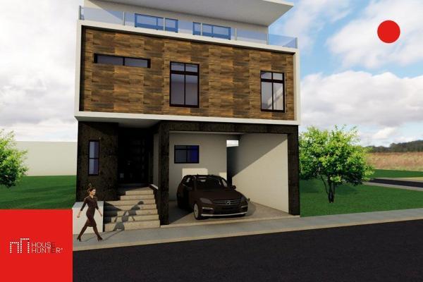 Foto de casa en venta en colina blanca , colinas del valle 1 sector, monterrey, nuevo león, 4646704 No. 01