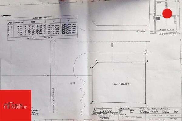 Foto de terreno comercial en venta en colon , pablo a. de la garza, monterrey, nuevo león, 8345585 No. 05