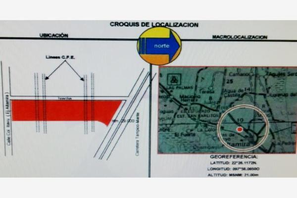 Foto de terreno habitacional en venta en  , colonias estación (ejido), altamira, tamaulipas, 7307907 No. 02