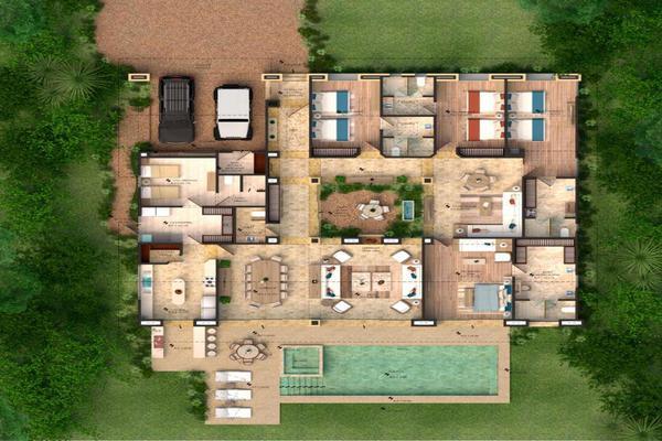 Foto de casa en condominio en venta en condominio rancho dos rios, santa magdalena tilostoc , valle de bravo, valle de bravo, méxico, 19738443 No. 05