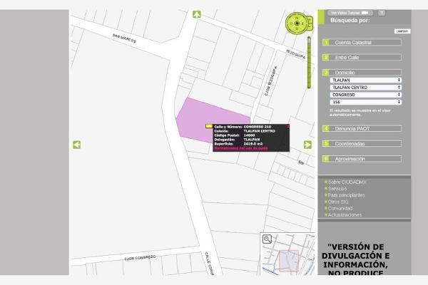 Foto de terreno habitacional en venta en congreso 100, tlalpan centro, tlalpan, df / cdmx, 6162174 No. 01