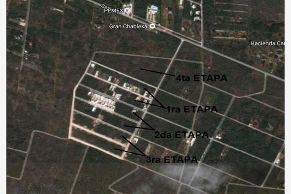Foto de terreno habitacional en venta en conkal conkal, san ángel, mérida, yucatán, 9255326 No. 02