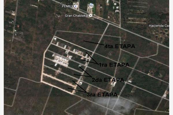 Foto de terreno habitacional en venta en conkal conkal, san ángel, mérida, yucatán, 9255326 No. 03
