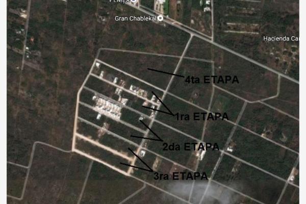 Foto de terreno habitacional en venta en conkal conkal, san jose, mérida, yucatán, 9255326 No. 02
