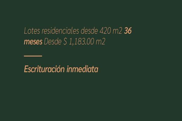 Foto de terreno habitacional en venta en  , conkal, conkal, yucatán, 14028780 No. 04