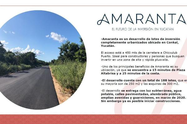 Foto de terreno habitacional en venta en  , conkal, conkal, yucatán, 14028856 No. 04