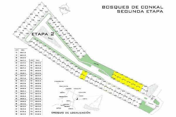 Foto de terreno habitacional en venta en  , conkal, conkal, yucatán, 2635086 No. 04