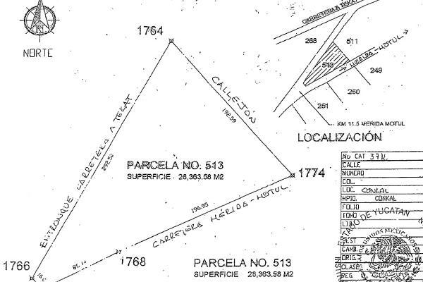 Foto de terreno comercial en venta en  , conkal, conkal, yucatán, 2636444 No. 04