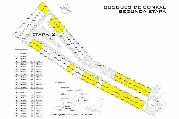 Foto de terreno habitacional en venta en  , conkal, conkal, yucatán, 2642614 No. 01