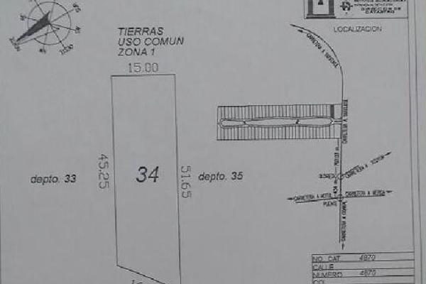Foto de terreno habitacional en venta en  , conkal, conkal, yucatán, 4284645 No. 02