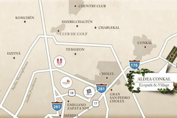 Foto de terreno habitacional en venta en  , conkal, conkal, yucatán, 4284645 No. 21