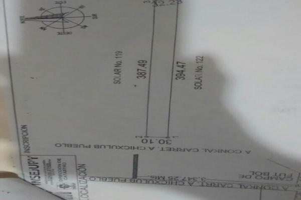 Foto de terreno habitacional en venta en  , conkal, conkal, yucatán, 4673074 No. 07