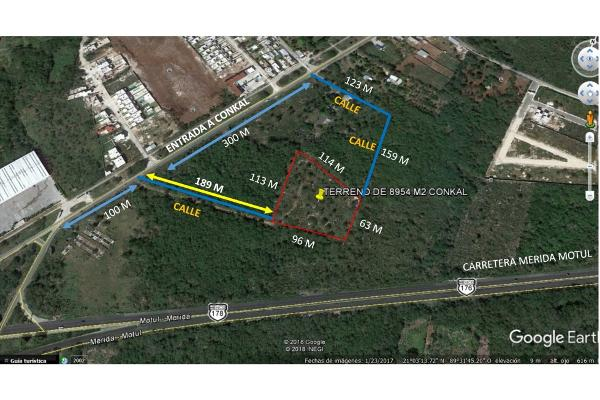 Foto de terreno habitacional en venta en  , conkal, conkal, yucatán, 5690238 No. 01