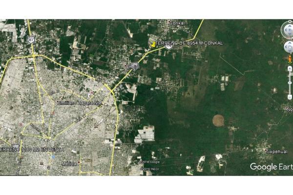 Foto de terreno habitacional en venta en  , conkal, conkal, yucatán, 5690238 No. 04