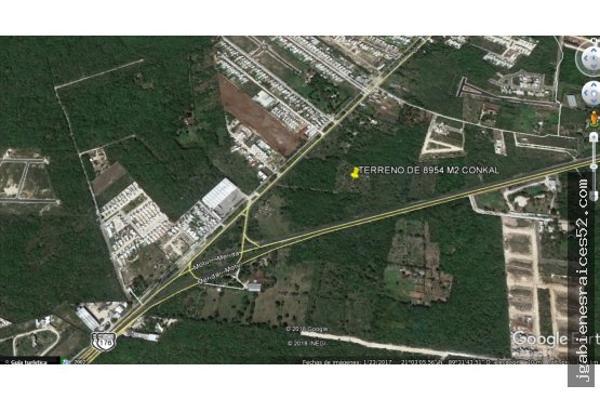 Foto de terreno habitacional en venta en  , conkal, conkal, yucatán, 5690238 No. 05