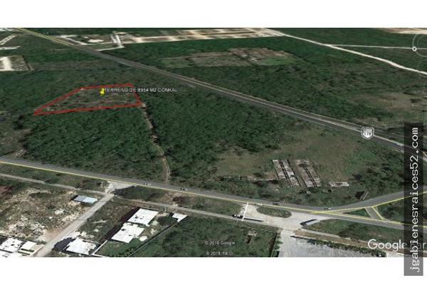 Foto de terreno habitacional en venta en  , conkal, conkal, yucatán, 5690238 No. 06