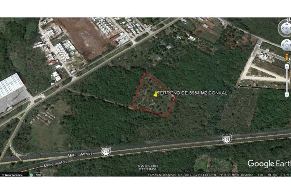 Foto de terreno habitacional en venta en  , conkal, conkal, yucatán, 5690238 No. 07