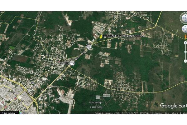 Foto de terreno habitacional en venta en  , conkal, conkal, yucatán, 5690238 No. 08