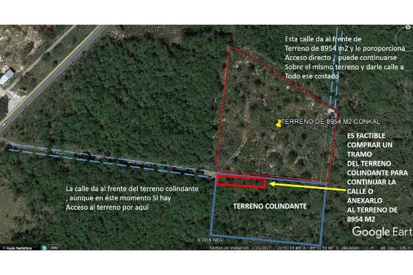 Foto de terreno habitacional en venta en  , conkal, conkal, yucatán, 5690238 No. 10