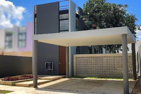 Foto de casa en venta en  , conkal, conkal, yucatán, 5693459 No. 01