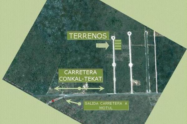 Foto de terreno habitacional en venta en  , conkal, conkal, yucatán, 7860572 No. 01