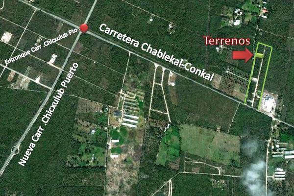 Foto de terreno habitacional en venta en  , conkal, conkal, yucatán, 7860905 No. 02