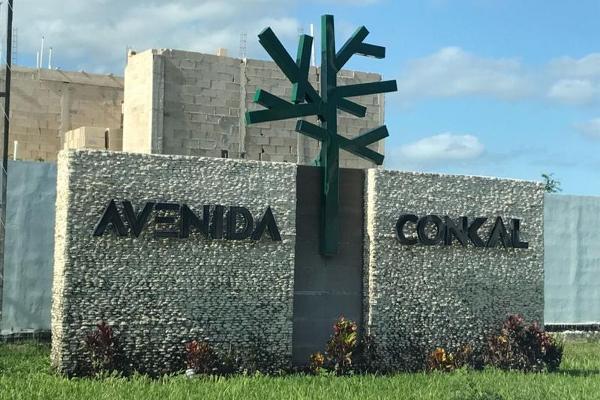 Foto de terreno habitacional en venta en  , conkal, conkal, yucatán, 7860915 No. 01