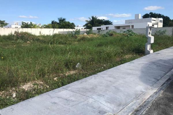 Foto de terreno habitacional en venta en  , conkal, conkal, yucatán, 7860915 No. 04