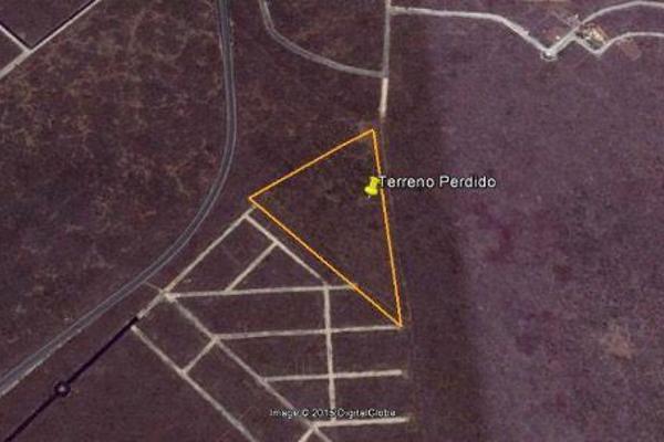 Foto de terreno habitacional en venta en  , conkal, conkal, yucatán, 7861050 No. 01