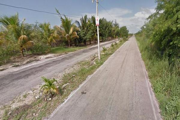 Foto de terreno habitacional en venta en  , conkal, conkal, yucatán, 7927267 No. 02