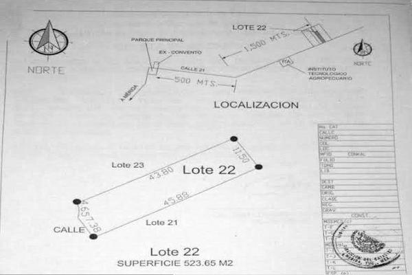 Foto de terreno habitacional en venta en  , conkal, conkal, yucatán, 7927267 No. 04