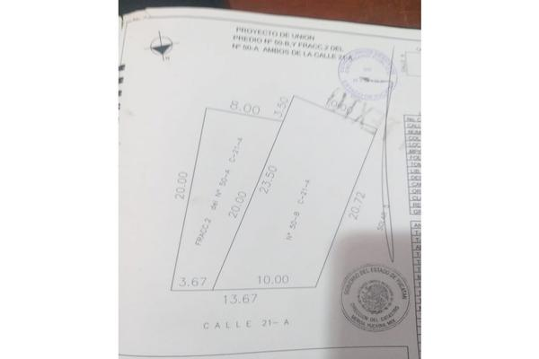 Foto de terreno habitacional en venta en  , conkal, conkal, yucatán, 8187292 No. 05