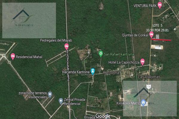 Foto de terreno habitacional en venta en  , conkal, conkal, yucatán, 8883848 No. 01