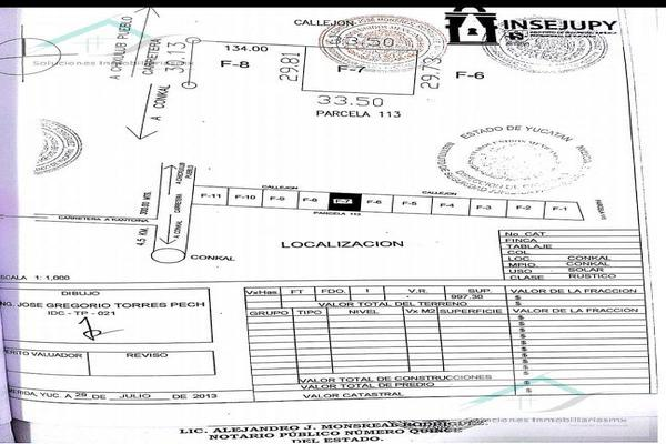 Foto de terreno habitacional en venta en  , conkal, conkal, yucatán, 8883848 No. 03