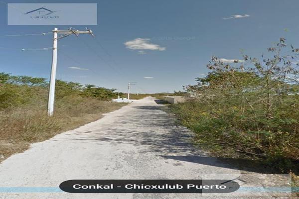 Foto de terreno habitacional en venta en  , conkal, conkal, yucatán, 8883848 No. 07