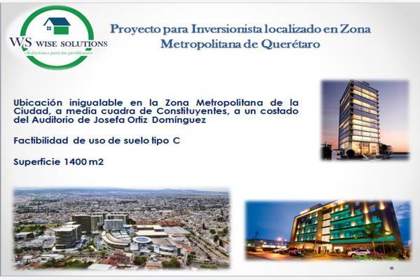Foto de terreno comercial en renta en  , constituyentes, querétaro, querétaro, 9145067 No. 04