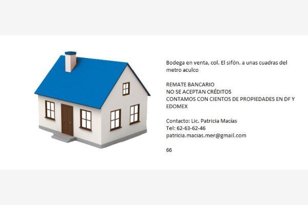 Foto de bodega en venta en contralores nn, el sifón, iztapalapa, distrito federal, 2673571 No. 02