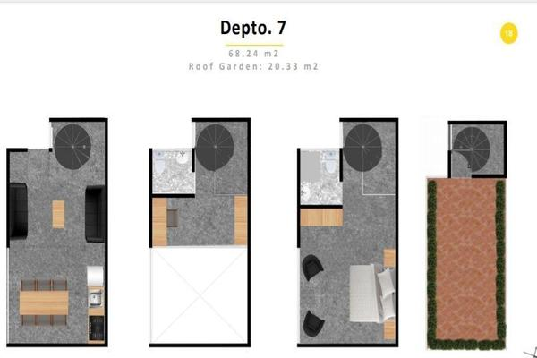 Foto de departamento en venta en cordoba , roma norte, cuauhtémoc, df / cdmx, 8261590 No. 09