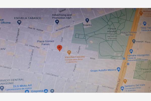 Foto de terreno habitacional en venta en corot esquina juan francisco millet 1, extremadura insurgentes, benito juárez, df / cdmx, 17549966 No. 07