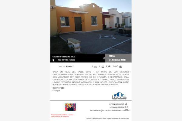 Foto de casa en venta en coto 1 coto 1, real del valle, mazatlán, sinaloa, 0 No. 06
