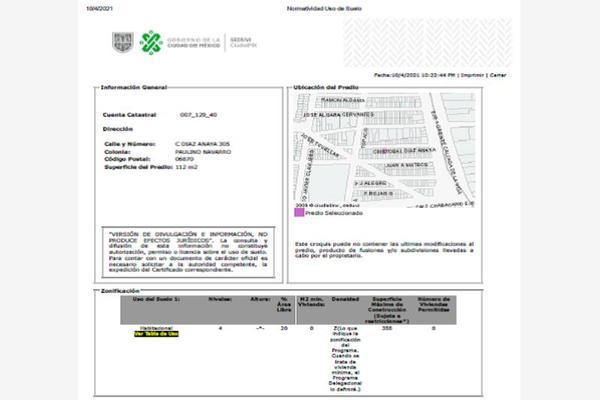 Foto de terreno habitacional en venta en cristóbal diaz anaya 307, paulino navarro, cuauhtémoc, df / cdmx, 0 No. 05