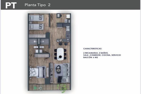 Foto de departamento en venta en cuauhtémoc , narvarte poniente, benito juárez, df / cdmx, 15219193 No. 14