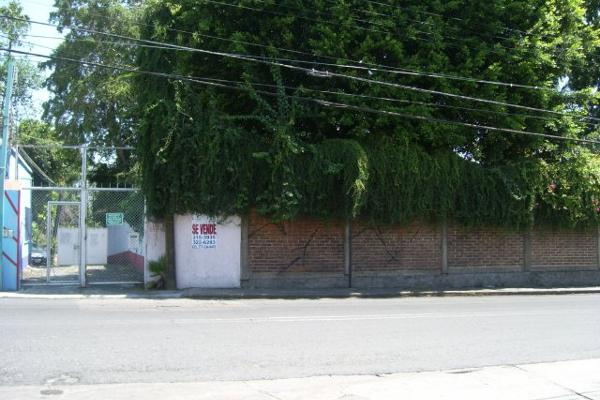 Foto de terreno habitacional en venta en  , cuernavaca centro, cuernavaca, morelos, 2634041 No. 01
