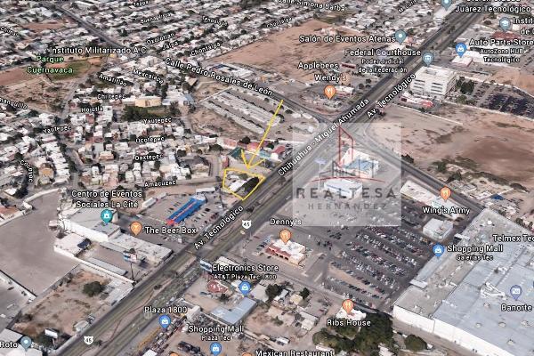 Foto de terreno comercial en venta en avenida tecnológico (frente a cc galerías tec , cuernavaca, juárez, chihuahua, 5877199 No. 01
