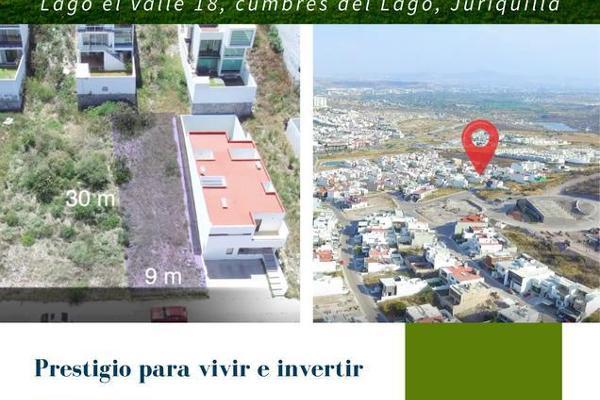 Foto de terreno habitacional en venta en  , cumbres del lago, querétaro, querétaro, 8882782 No. 01