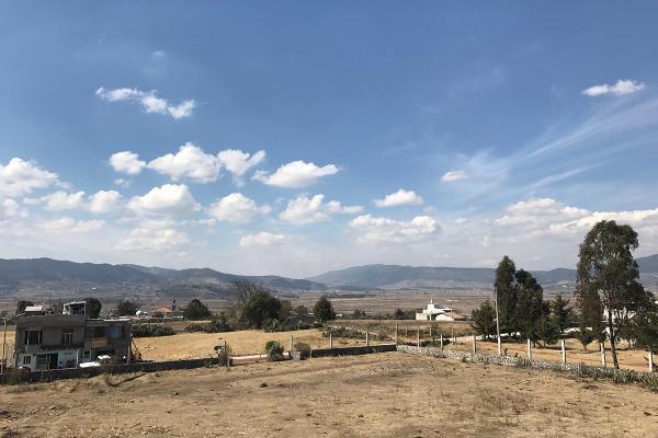 Foto de terreno habitacional en venta en de la primaria , san pedro de los metates, acambay, méxico, 3081379 No. 01