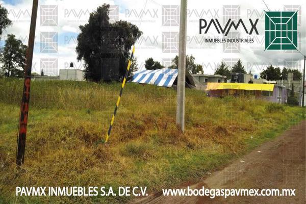 Foto de terreno habitacional en venta en de las diligencias 7, san miguel xometla, acolman, méxico, 8874364 No. 03