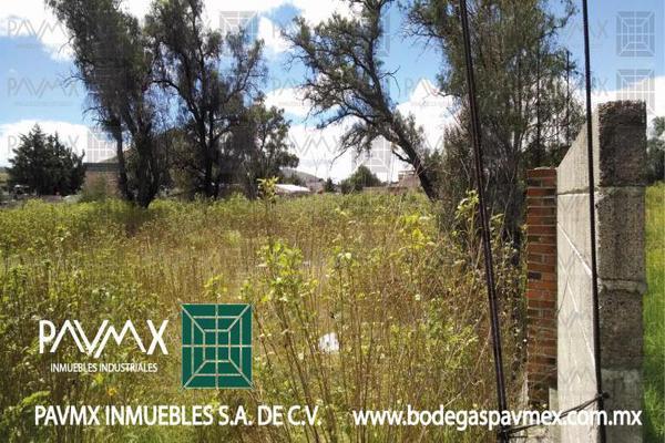 Foto de terreno habitacional en venta en de las diligencias 7, san miguel xometla, acolman, méxico, 8874364 No. 09