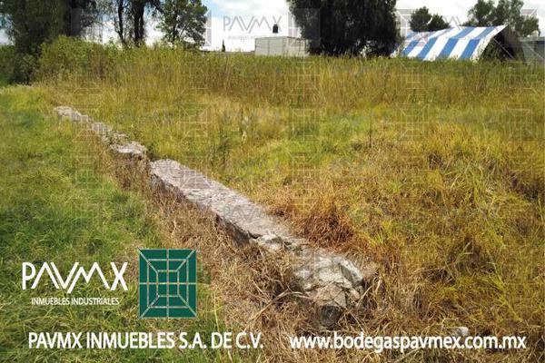 Foto de terreno habitacional en venta en de las diligencias 7, san miguel xometla, acolman, méxico, 8878037 No. 02